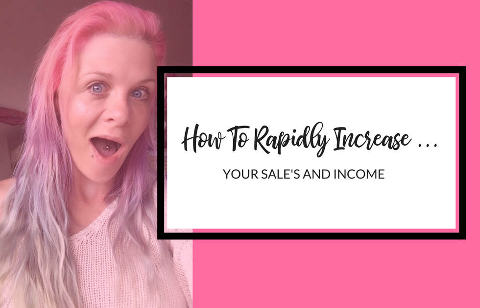 HOW TO INCREASE YOUR SALES RAPIDLY